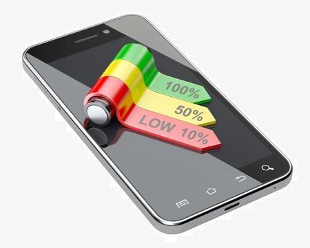 уровень заряда телефона